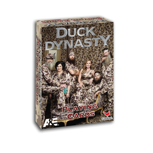 Cardinal Duck Dynasty Playing Cards
