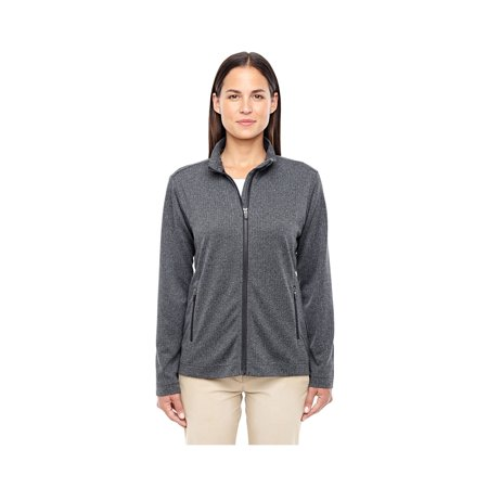 Jones Zip - Devon & Jones Ladies Herringbone Full Zip Jacket, Style D885W