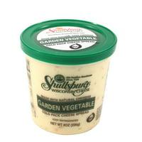 Shullsburg Creamer Garden Vegetable Cold Pack Cheese Spread, 8 Oz.