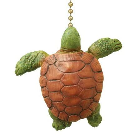 Coastal Ocean Sea Turtle Baby Decorative Ceiling Fan Light (Disney Ceiling Fan Pull)