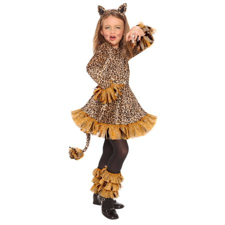 Leopard Girls' Child Halloween Costume