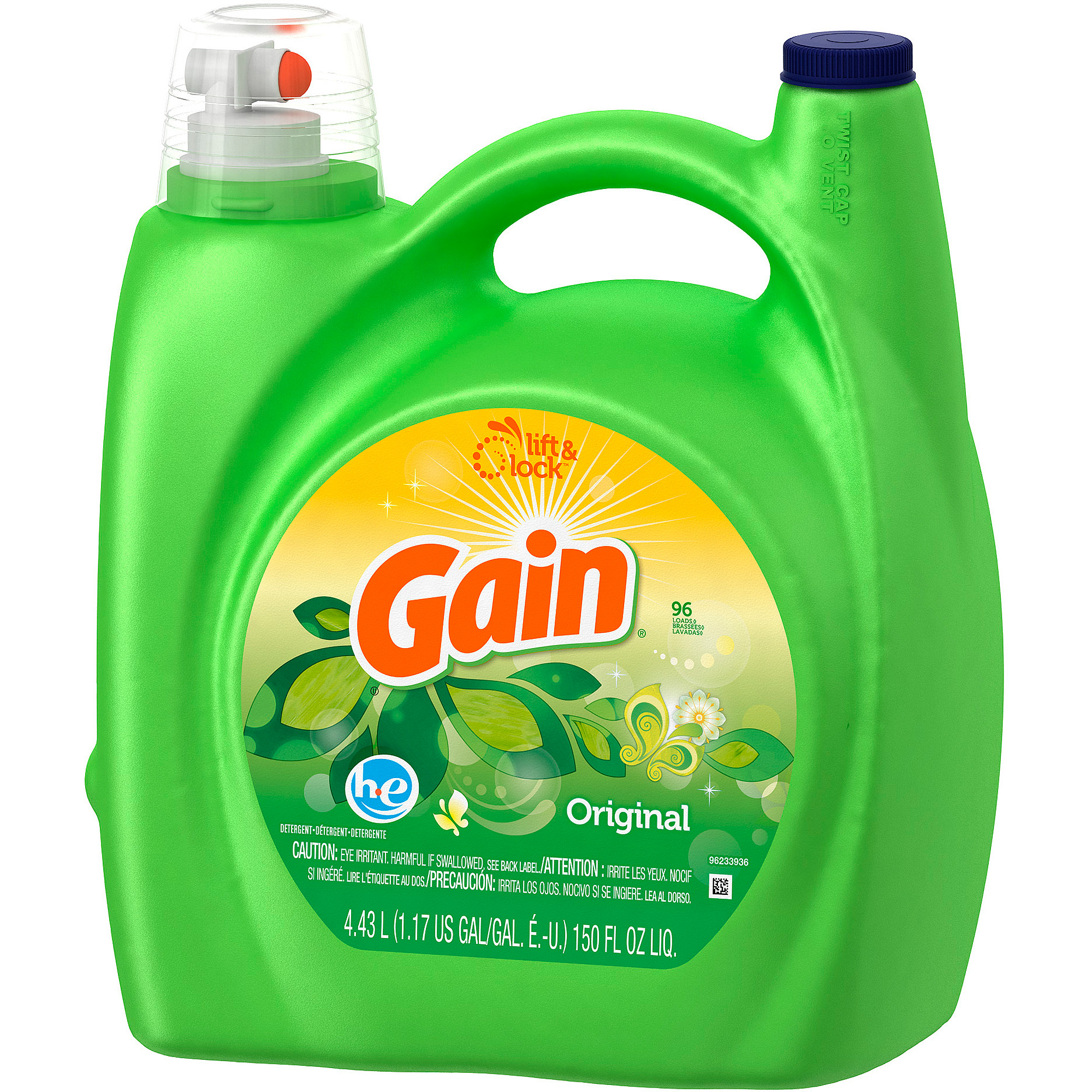How Much He Detergent To Use Gain 2x Ultra For High Efficiency Machines Detergent Original