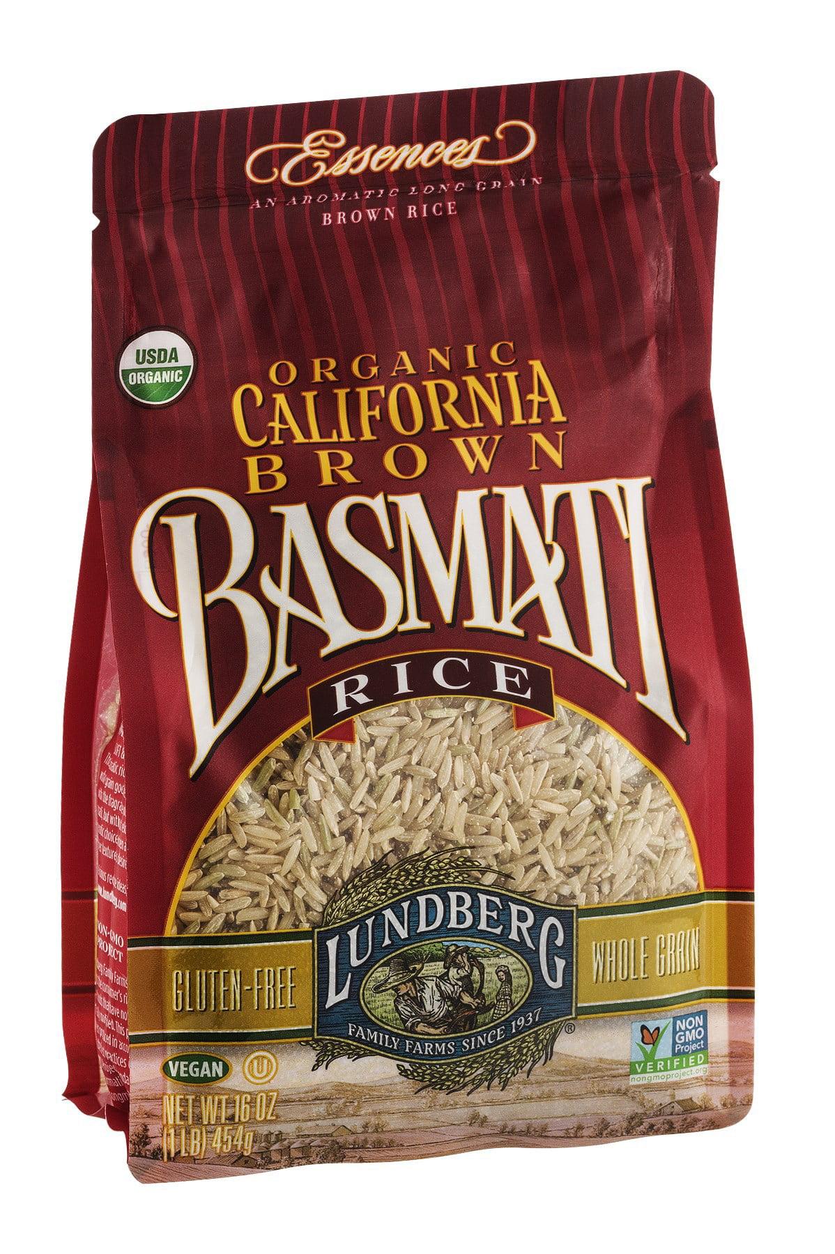 Lundberg Family Farms California Brown Basmati Rice, 1 LB
