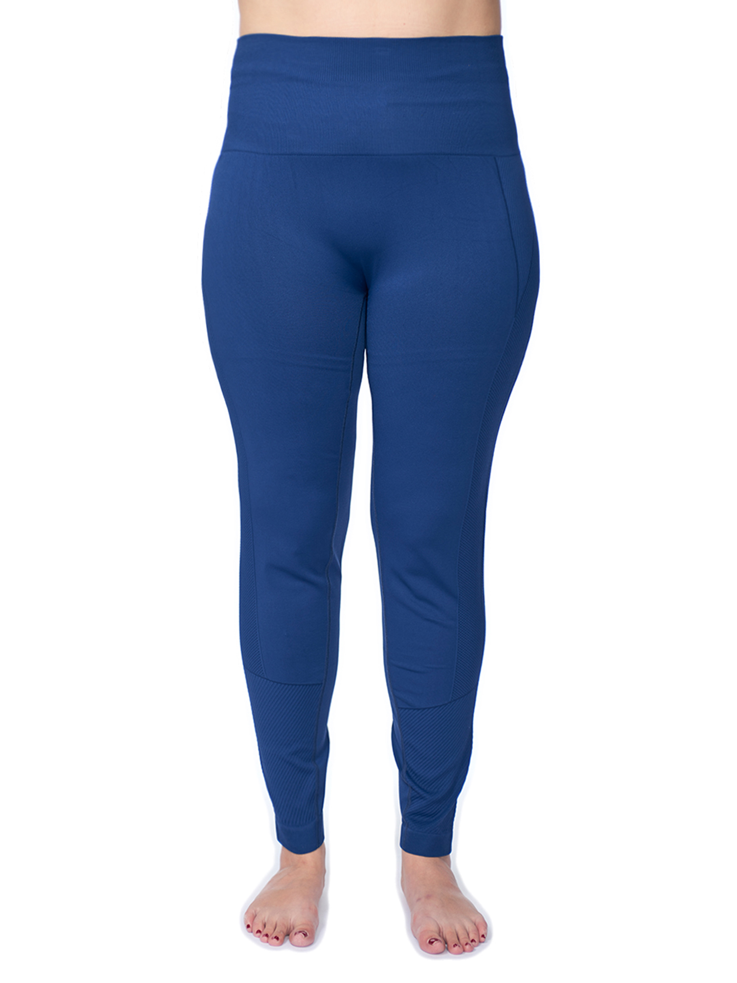 Under Control Women's Plus Active Seamless High Impact Fitness Legging with Stretch Compression and Control Waistband