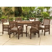 Manor Park Outdoor Patio Dining Set, 7 Piece, Multiple Colors and Styles