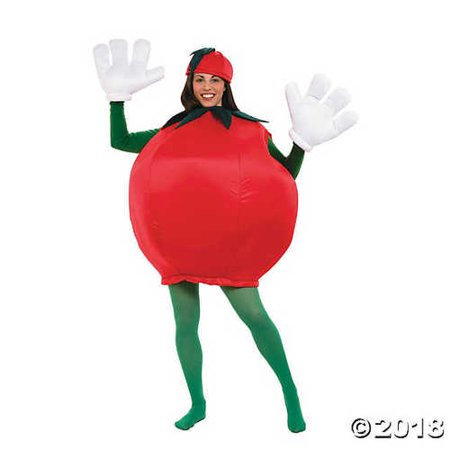 Peter Alan Inc - Tomato Adult Costume - One-Size - Red](Alan Costume)