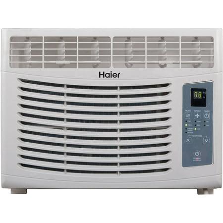 haier air conditioner. haier hwr05xcr-l 5,000 btu window air conditioner with remote, 115v n