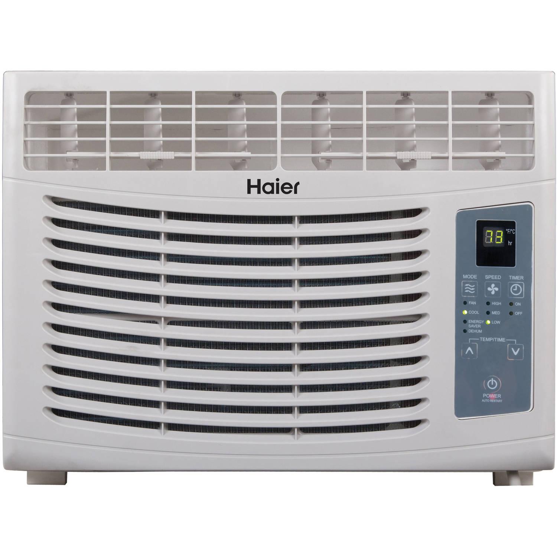 Haier HWR05XCR-L 5,000 BTU Window Air Conditioner with Remote, 115V