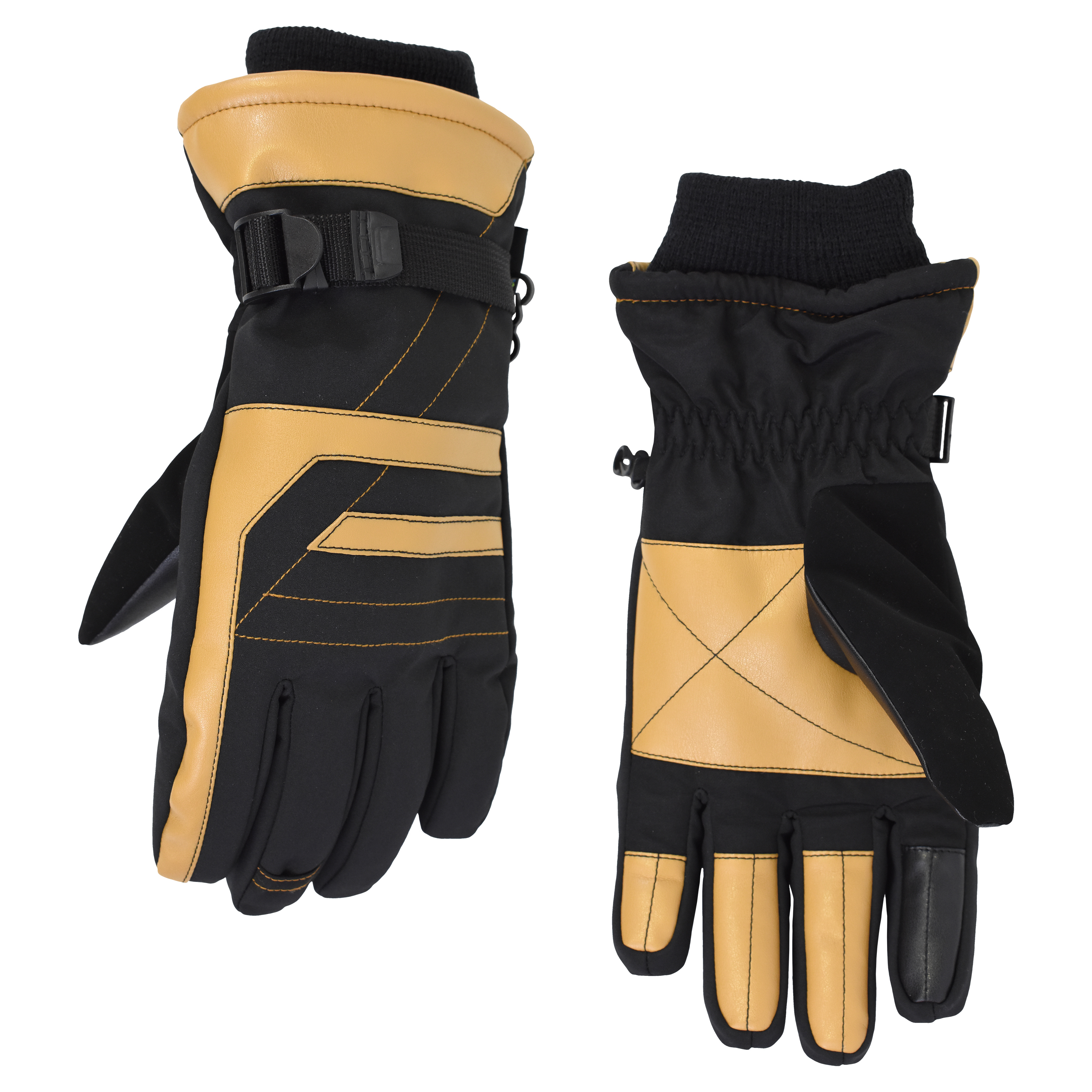 Men's Cold Front Thinsulate Soft Shell Outdoor Gloves (Waterproof, Windproof and Breathable)
