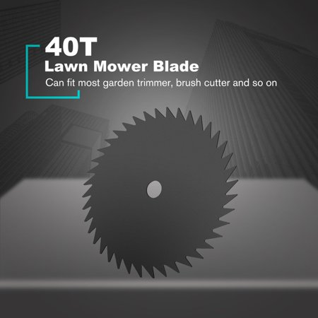 Lawn Mower Blade Circular Grass Cutter Brush Saw Blade Manganese Steel Razor Lawn Machine Accessories Trimmer 80/60/40/8/4/3T - image 5 de 9
