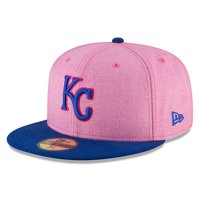Kansas City Royals New Era 2018 Mother's Day On-Field 59FIFTY Fitted Hat - Pink/Royal