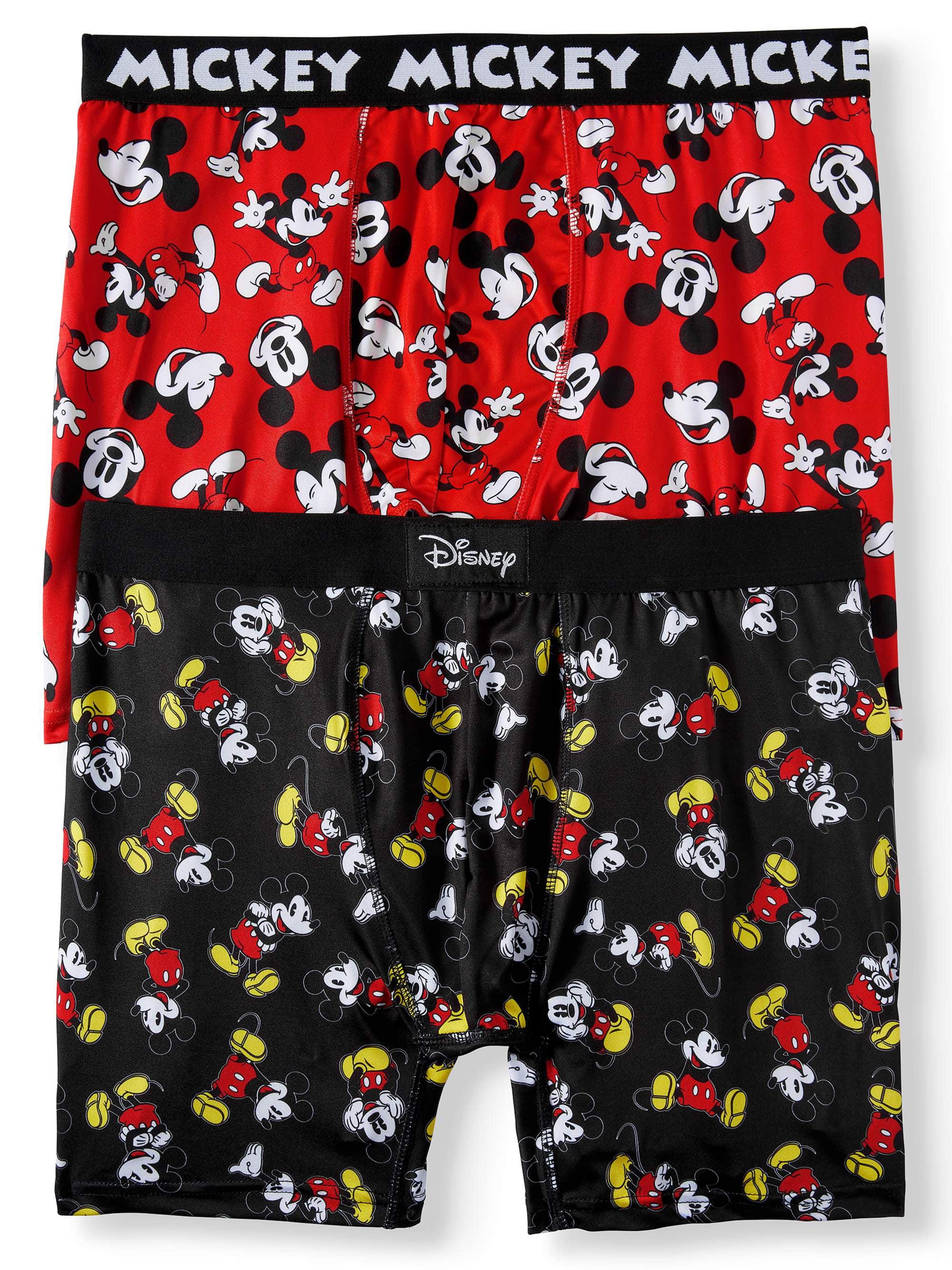 Disney Men's Mickey 2pk Boxer Brief