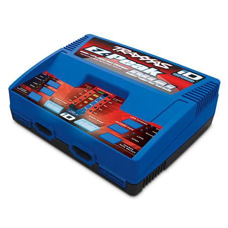 Traxxas EZ-Peak Plus 100 Watt NIMH/Lipo Dual Charger with Id (Best Dual Lipo Charger)