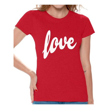 73db311f98ee Awkward Styles Love Shirt Love Tshirt for Women St.Valentines Day Shirt  Love Gifts Valentines T shirt Women's Love T-Shirt Gift for Her Valentine  Shirts for ...