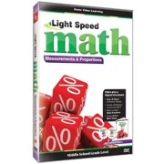 Light Speed Math: Measurements & Proportions by