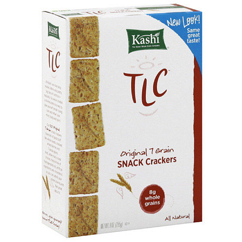 Kashi TLC Original 7 Grain Snack Crackers, 9 oz (Pack of 12)