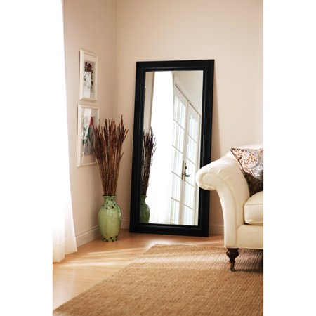 Better Homes And Gardens Leaner Mirror Black Walmart Com