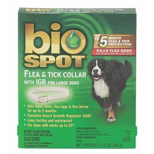 Farnam Pet-Bio Spot Flea & Tick Collar With Igr- Green Large