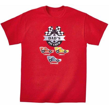 275376de9 ONLINE - Personalized Get Your Motor Running Adult T-Shirt - Walmart.com