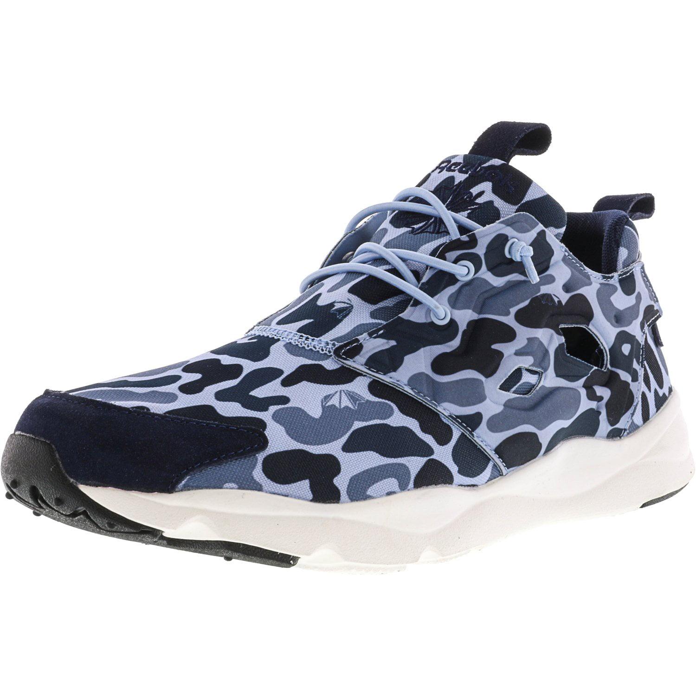 reebok hommes & # 39; s blanc realflex Noir  / gravier blanc s avant la cheville de chaussures de course - 12 m de haut e1c541