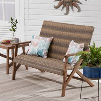 Deals on Better Homes & Gardens Fayette Patio Wicker Bench