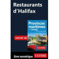 Restaurants d'Halifax - eBook