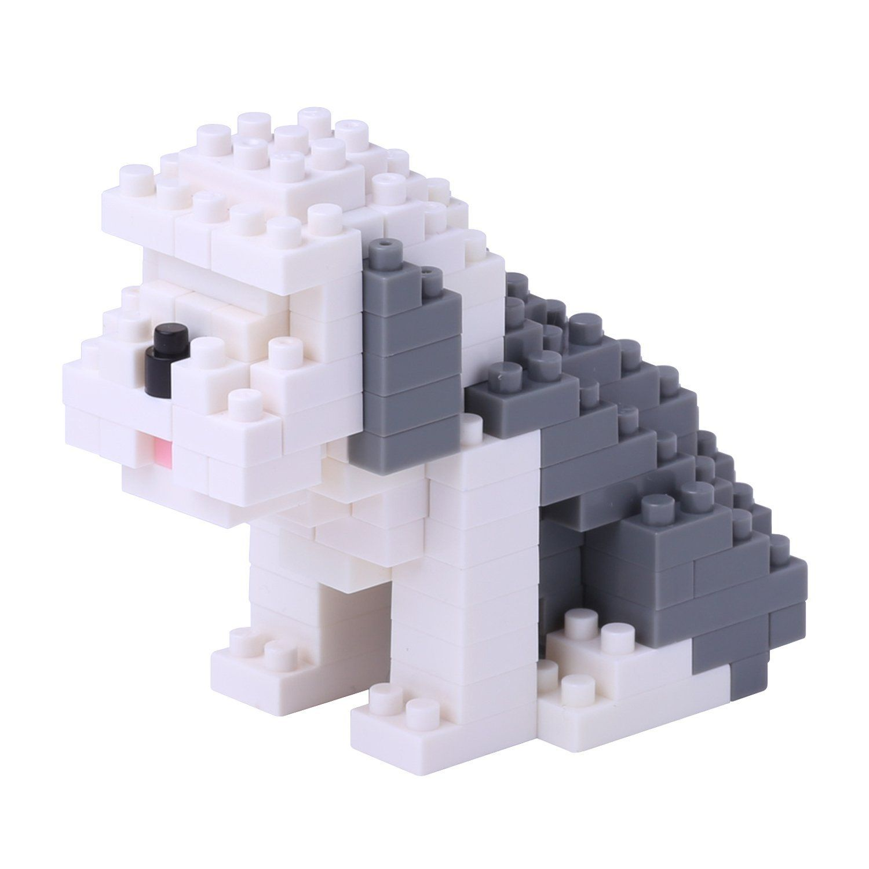 Old English Sheepdog Mini Building Sets by Nanoblock (NBC169) by nanoblock