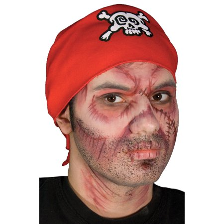Morris Costumes Undead Pirate Stack Card Stackable Multi-Color Makeup, Style CSCC019C - Skeleton Pirate Halloween Makeup