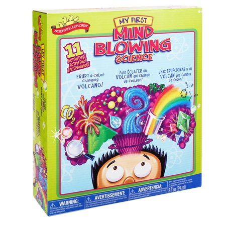Scientific Explorer Mind Blowing Science Kit, 1