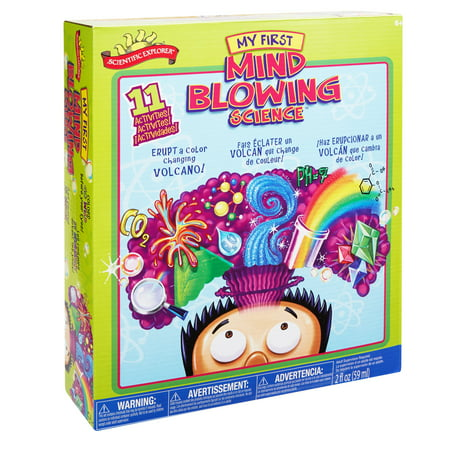 Scientific Explorer Mind Blowing Science Kit, 1 (Science Experiments For 2 3 Year Olds)