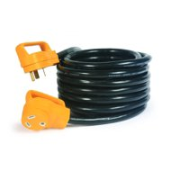 Camco 55191 25' 30-Amp Male and 30-Amp Female PowerGrip Extension Cord for RV Use