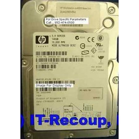 HP 364329-001 HP 146GB U320 SCSI 15K rpm HDD, 68 PIN , 15k 80 Pin Scsi