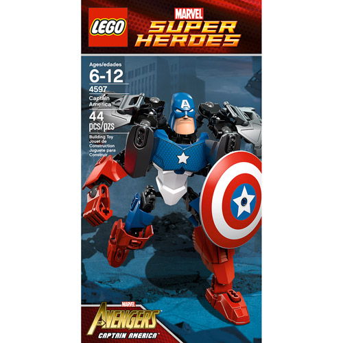 LEGO Marvel Super Heroes Captain America Building Set