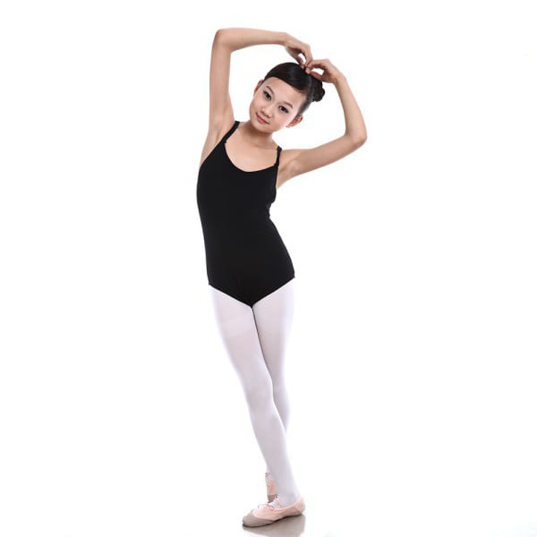 Girls Kids Sleeveless Gymnastics Dance Leotards Ballet Leotard Costume Lot Sizes