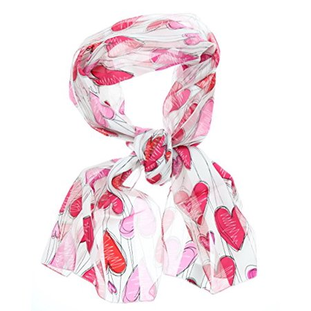 Women's Silky Feel Classic Holiday Scarf, 12