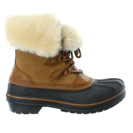 Crocs AllCast II Luxe Snow Boot Shoe - Womens - Walmart.com