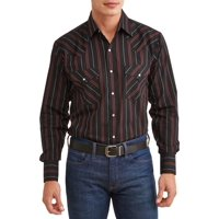 f6124258ef3 Product Image Plains Men s Long Sleeve Stripe Western Shirt