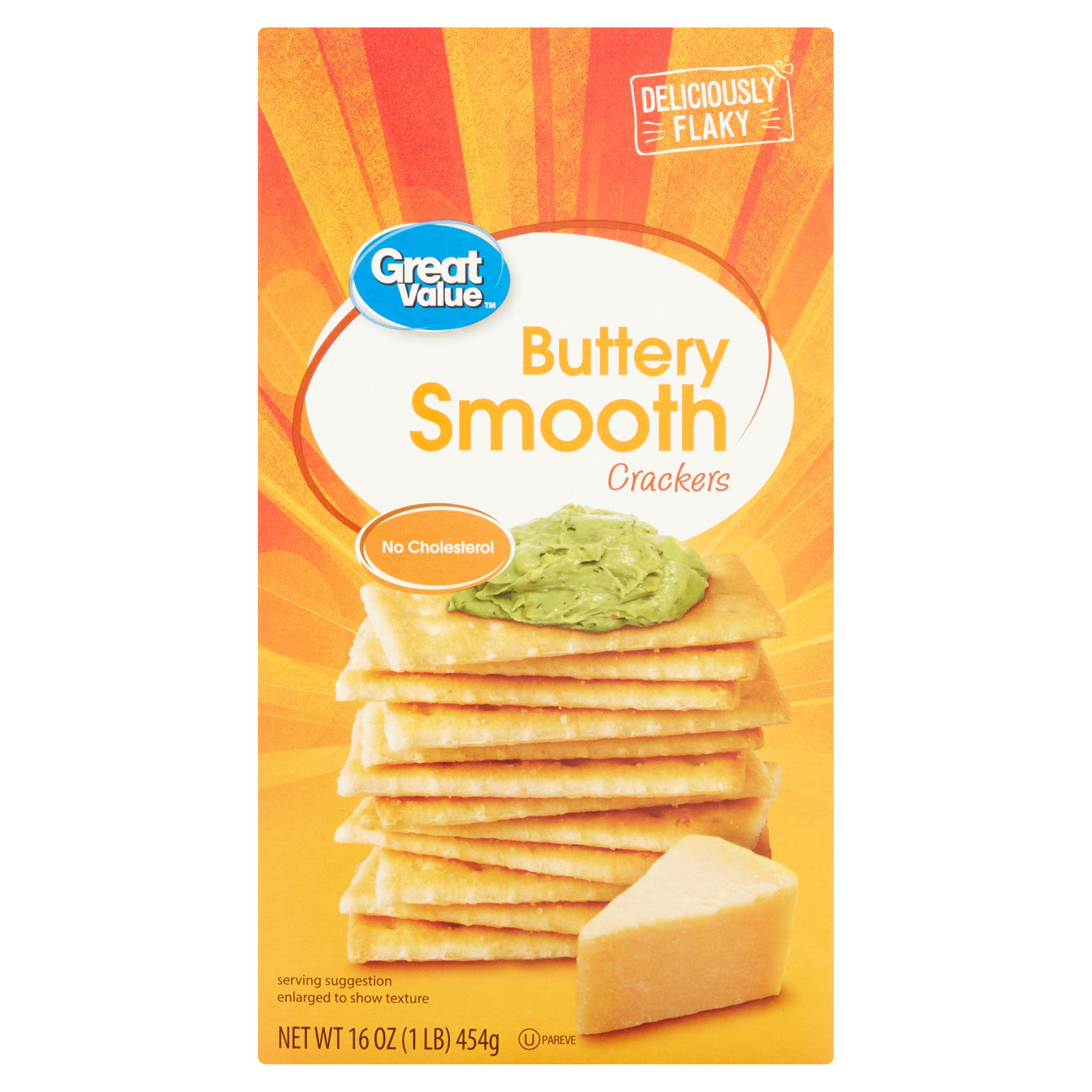 Great Value Buttery Smooth Crackers, 16 oz
