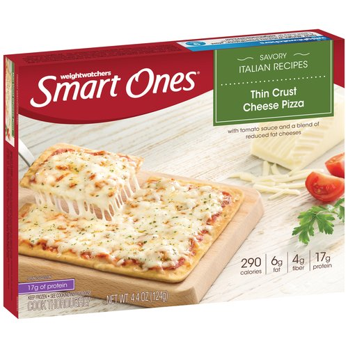 Weight Watchers Smart Ones Savory Italian Recipes Thin Crust Cheese Pizza, 4.4 oz