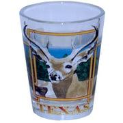 Texas Shotglass- Wildlife (96 Units Included)