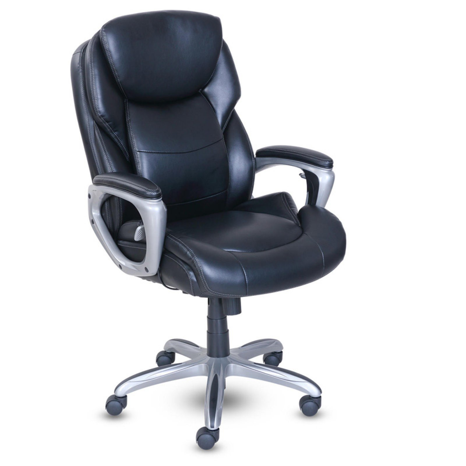 Serta My Fit Executive Office Chair with Active Lumbar Support - Walmart.com