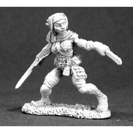 Reaper Miniatures Dynis, Female Elf Thief #03285 Dark Heaven Unpainted Metal (Dark Elf Reaper)