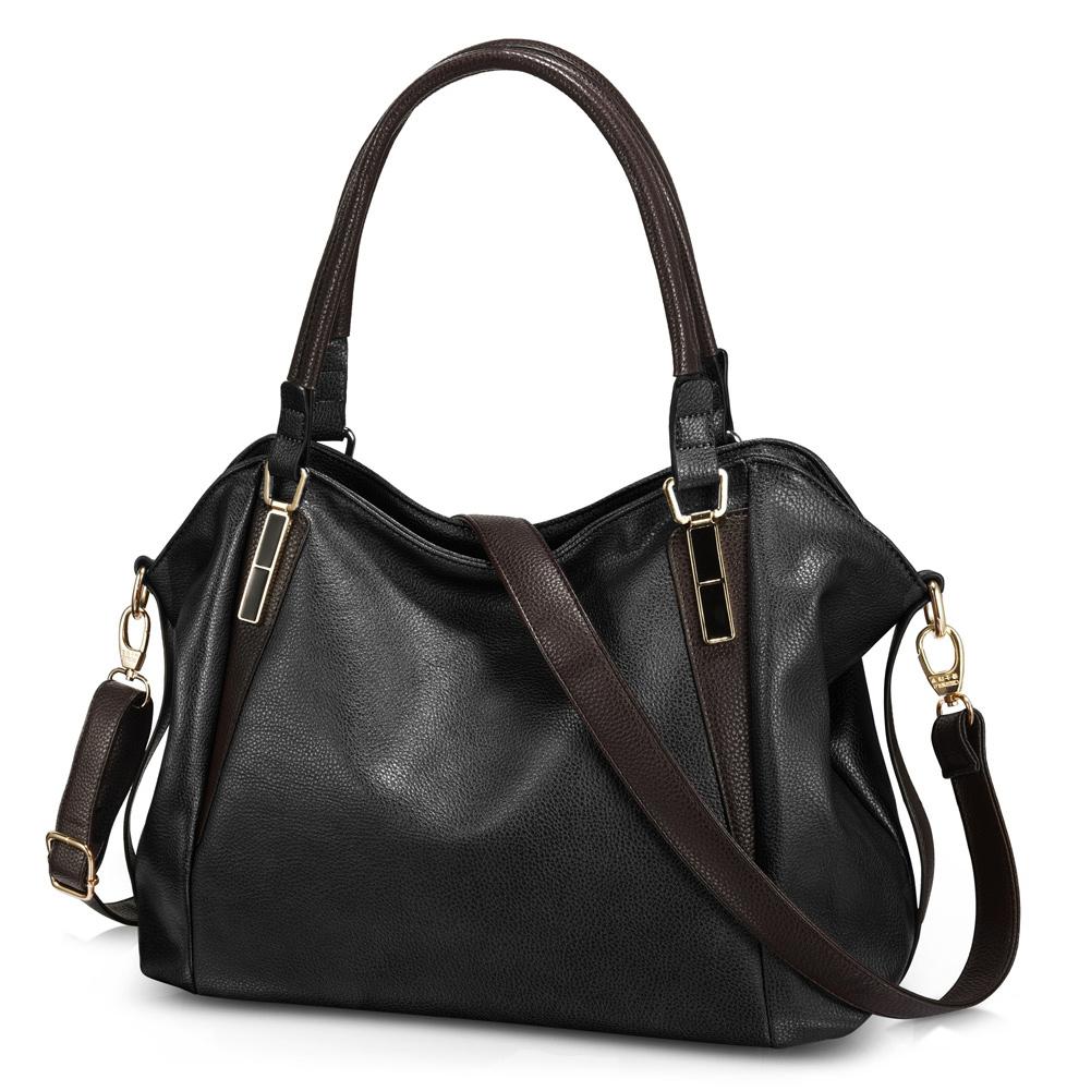 Vbiger PU Shoulder Bags Top Handle Handbag Purse Tote Messenger Bag Crossbody...