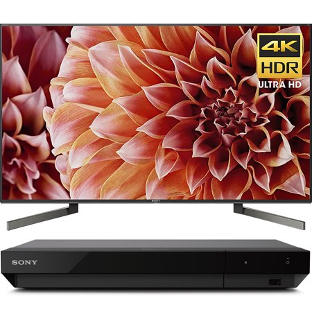 "Sony 55"" Class 4K Ultra HD (2160P) HDR Android Smart LED TV (XBR55X900F) with Sony 4K Ultra HD Blu Ray Player with Dolby Vision"