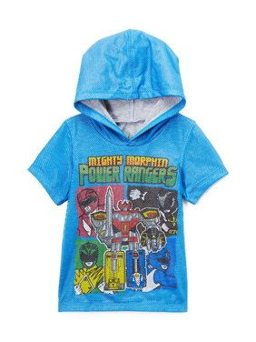Power Rangers Little Boys' Toddler Mighty Morphin Hooded Tee