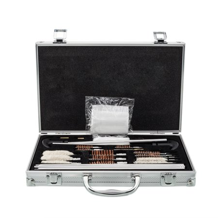 UBesGoo 126pcs Pro Universal Gun Cleaning Kit, with Carry Case, for Rifle Pistol Shotgun Firearm Cleaner