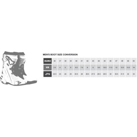Alpinestars SMX-1 R Boots (46) - Alpinestars Decal