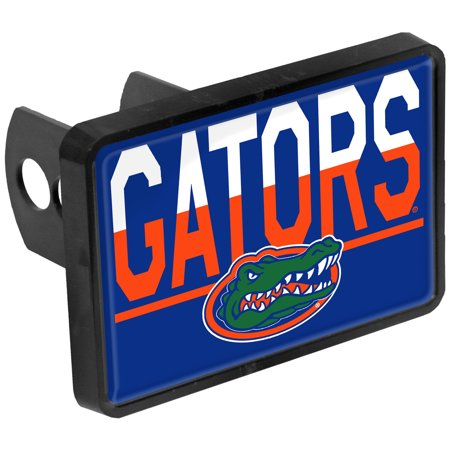 Florida Gators Duo-Tone Rectangular Plastic Hitch Cover - No