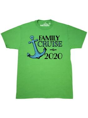 Family Cruise 2020 blue ship anchor T-Shirt