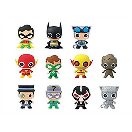 DC Comics Blind Bagged 3D Foam Figural Keychain: Series 2